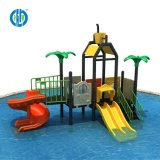Outdoor Amusement Play Plastic Water Slide Playground for Children Park