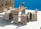 Outdoor Use Bar Set Wicker Weaving Furniture Resin Patio Furniture