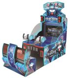 Hero of Steel Water Shooting Ground Coin Operated Arcade Redemption Lottery Ticket Game Machine