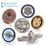 Cheap Custom Metal 3D Personalized Antique Gold Navy Chief Cpo Seal Cool Firefighter Spinning Usmc Bottle Opener Masonic Police Blank Military Challenge Coin