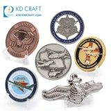 Free Sample Cheap Custom Challenge Coin 3D Navy Trading Seal Baseball Spinning Bottle Opener Masonic Canada Armor of God Police Blank Military Challenge Coin