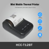 Cheap Thermal Receipt Paper 58mm Mini Portable Bluetooth Thermal Printer Hcc-T12bt