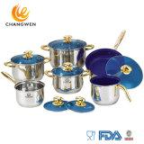 12PCS Stainless Steel Cookware Set Wholesale Non Stick Kitchen Utensil