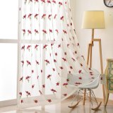 Home Decoration Home Deco Home Textile High Quality Polyester Embroidery Voile Fabric