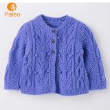 Custom Print Design Winter Cartoon Knitted Cotton Kids Cardigan Baby Clothes