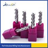 Carbide Solid 3 Flutes Milling Cutter for Alumium