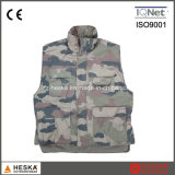 Mens Winter Padded Camouflage Bodywarmer Jungle Vest