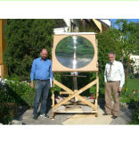 OEM Large Optical PMMA Fresnel Lens for Solar Focus 890mm