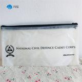 Custom Colorful Printed Transparent Soft Plastic PVC Pencil Case with Zipper
