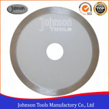 Diamond Tool 105mm Sintered Continuous Saw Blade for Ceramic