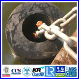Nature Rubber Cylindrical Fender for Boat