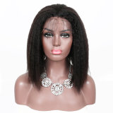Brazilian Kinky Straight Wigs W Baby Hair Remy 13X4 Pre Plucked Yaki Lace Front Human Hair Wig for Black Women Wigs