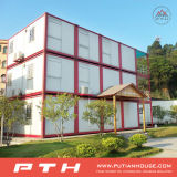 China Flat Pack Prefab Container Hotel Building with ISO Certified