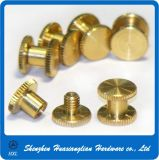 Custom Made Male Female Connecting Solid Brass Chicago Screw