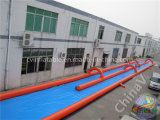 1000FT Inflatable Extreme Dual Lane Water Slide for Rental