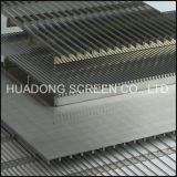 Ss 304 Johnson Screen Panels/ Flat Wedge Wire Slotted Screen Panels Prices