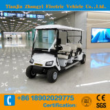 6 Person Four Wheel New Designed Electric Sightseeing Golf Vehicle with Ce