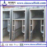 Steel Mason Frame Scaffold Powder-Coating Finish