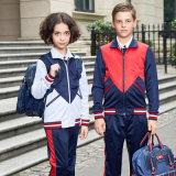 Color Combination Kindergarten Sport Wear School Uniform Design Kids Children Tracksuit