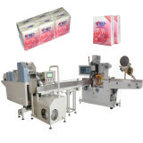 Pocket Mini Facial Tissue Paper Packing Machine