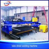 High Efficient CNC Plasma Flame Steel Plate Tube Pipe Cutting Hole Equipment