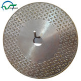 Electroplated Diamond Saw Blade with Double Face Coating (JL-EDBF)