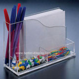 Acrylic Pocket Notebook with Pen Holder (BTRH1027)