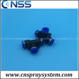 Low Pressure Misting Nozzle Push Lock T Fittings