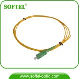 Sc/APC Sm Simplex Fiber Optic Patch Cord