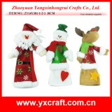 Christmas Decoration (ZY14Y381-1-2-3) Christmas Stranger Cheap Gift