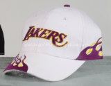 Custom Basketball Hat with Purple Embroidery