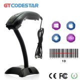Cheap Auto Scan Fixed Stand Barcode Scanner with USB RS232 PS2 Interface X-1200