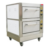 Hotel Kitchen Electric Pizza Oven Commercial Bread Bakery Equipment 2 Deck Baking Oven for Seafood &Chicken &Pasta&Shrimp