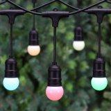 Outdoor Festoon Weatherprooft Garden Color Cover String Lamp LED String Lighting
