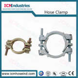 Carbon Steel Investment Casting Double Bolts Hose Clamps