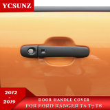 Ycsunz Pickup Accessories ABS Black Car Handle Cover for 2012-2019 Ranger Px T6 T7 T8 or Bt50