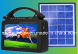 Portable Rechargeable Solar TV with Light
