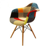 Comfy Patchwork Club Arm Chair