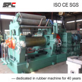 Rubber Mixing Mill with Blender