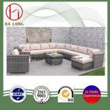 Leisure Patio Garden Wicker Outdoor Bl-9501 Rattan Sectional Sofa Set