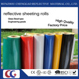 Advertisement Grade Acrylic Reflective Vinyl Film