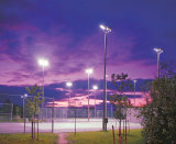 Stadium 15m High Mast Lighting Pole with 2X1000W HPS Lamps