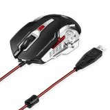 2400dpi Wired USB Optical Gaming Mice (M-73)