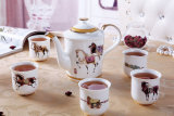 High-Grade Coffee Cup Set European Household China English Afternoon Tea Set