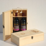 Wholesale Wooden Wine Box Gift Box Wood Double-Vessel Box