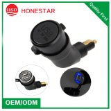 European Standard BMW Motorcycle Charger Hella DIN Dual USB Car Charger 5V 3.3A
