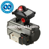 High Quality Pneumatic Rotary Actuator with Limit Switch Box