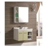 Acrylic Basin Wholesale MDF Bathroom Cabinet with Mirror