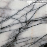 Polished Lilac White Marble Slabs for Flooring & Wall (MT063)