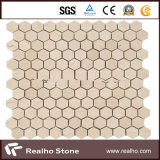 Cream Marfil Marble Mosaic with Good Price